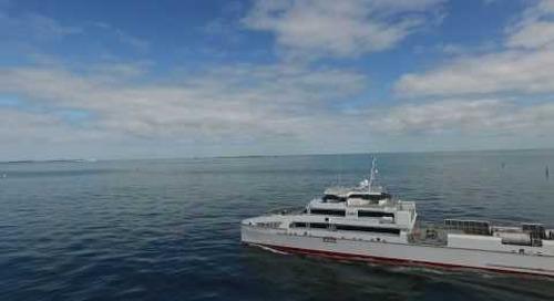 Austal Offshore Express 70 - Rashid Behbudov for Caspian Marine Services