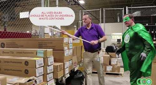 ECC Video - Universal Waste spent bulbs