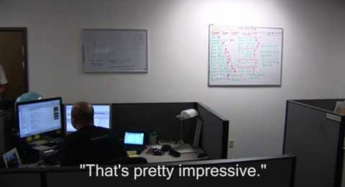 Office Prank - Making an Office Disappear.