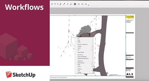 SketchUp for Construction Documentation: Layout Site Plan Template