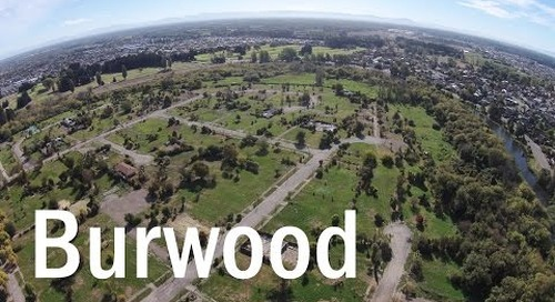 Burwood Then and Now - A Drone's Eye View