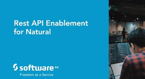 Rest API enablement for Natural
