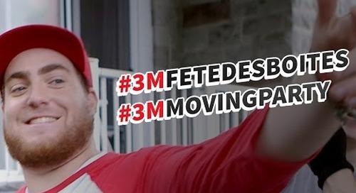 La fête des boîtes 3M – 3M Moving Party