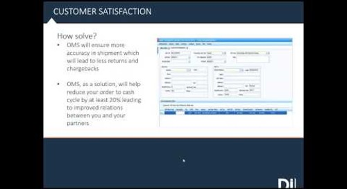On Call Webinar: Get to know DiCentral's Order Management System (OMS)