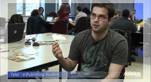 Student Testimonial - e-Publishing Program