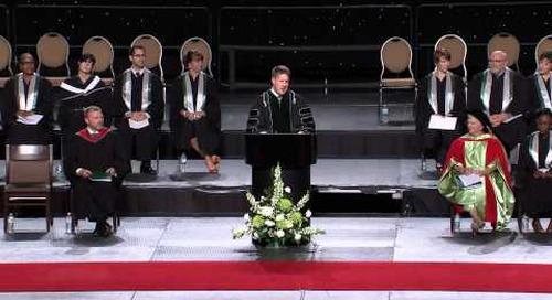 Algonquin College Spring 2013 Convocation - Dr. Kent MacDonald