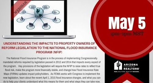 National Flood Insurance Program (FEMA) 5.5.2015