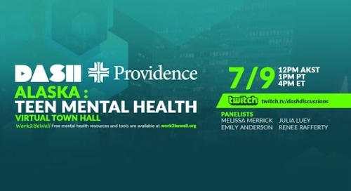 Virtual Town Hall: Alaska Teen Mental Health