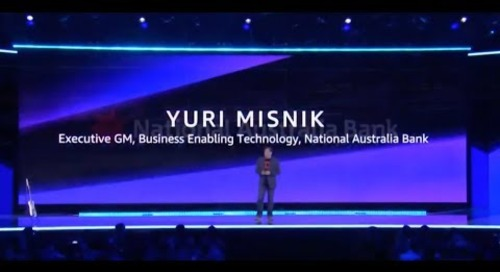 AWS re:Invent 2018 - Yuri Misnik from National Australia Bank Shares the Company's AWS Migration