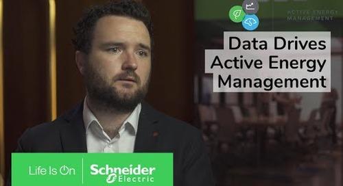 Data Drives Active Energy Management | Schneider Electric