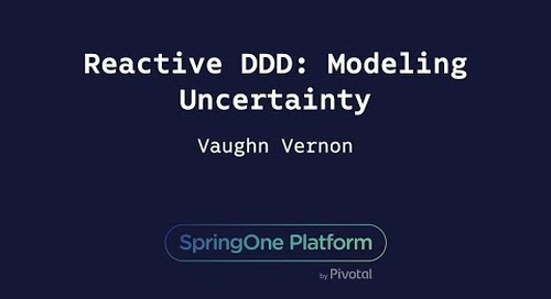 Reactive DDD: Modeling Uncertainty - Vaughn Vernon, Author