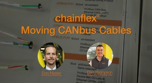 chainflex® - Moving CANbus Cables Webinar