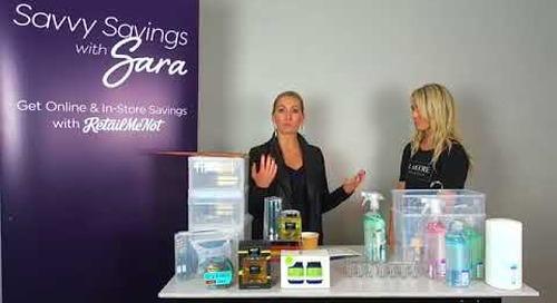 Savvy Savings with Sara | Spring Cleaning