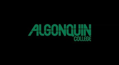 (Full Version) Dr. Kent MacDonald Unanimously Elected Algonquin's Seventh President