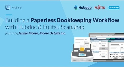Building a Paperless Bookkeeping Workflow with Hubdoc & Fujitsu ScanSnap [July 2019]
