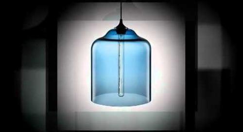 Niche Modern Bell Jar Handmade Pendant Light