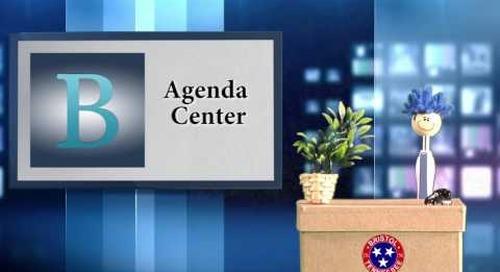Billy Bristol Discusses the Agenda Center