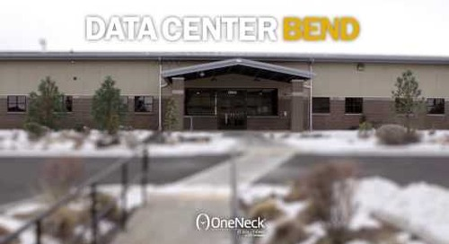 OneNeck data center in Bend, OR