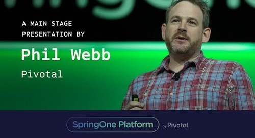 Phil Webb at SpringOne Platform 2017