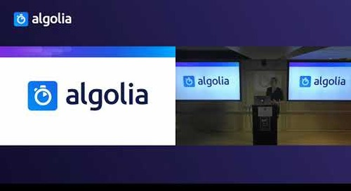 Bringing a fast and relevant search to a React Native application - Marie Thuret, Algolia