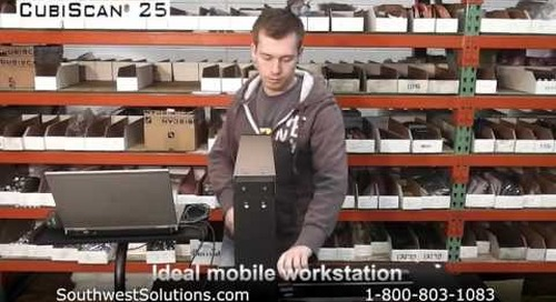 Automated Inventory Dimension & Weighing System for Maximizing Storage Space Efficiency