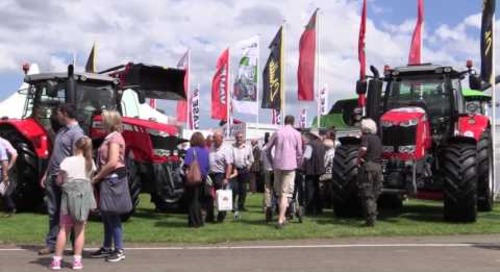 Massey Ferguson at the Royal Highland Show 2016