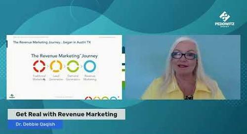 Get Real with Revenue Marketing - The origins of Revenue Marketing