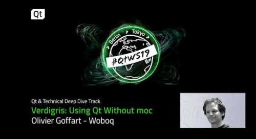 Can you use Qt without moc?
