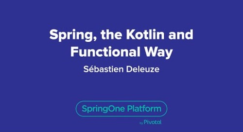 Spring, the Kotlin and Functional Way