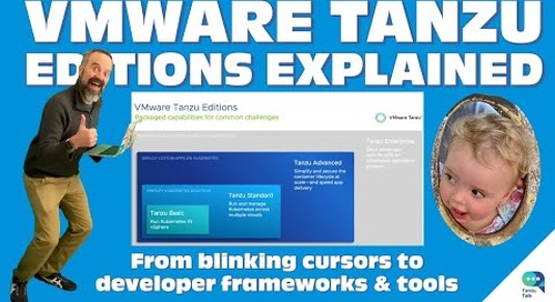 Tanzu Talk: What is Tanzu? A Quick Overview of VMware's Kubernetes Distros and Suites