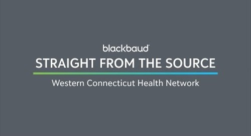 Straight from the Source: Western Connecticut Health Network