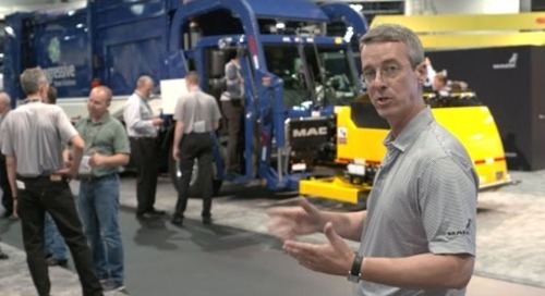 Waste Expo 2015 - All new Mack LR Model