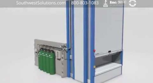 Residue-Free Gas Fire Extinguishing Systems for Automated Storage Modules
