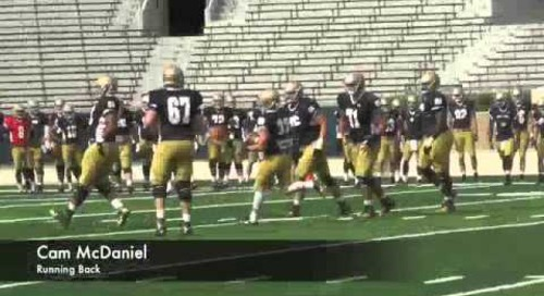 Notre Dame Practice Highlights — Aug. 19, 2014