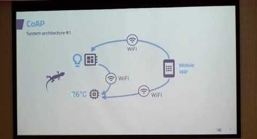 How CoAPstandardmakes your IoT talk with Qt, Adrien Leravat, Witekio at QtWS17