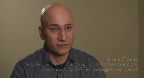 Blazemeter, a CA Technologies Company, makes customer success a company mission
