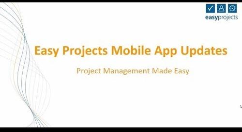Kanban Boards on the Mobile App