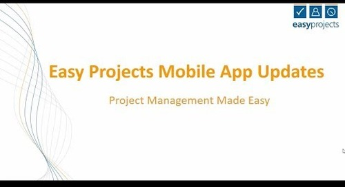 Easy Projects — Kanban Boards on the Mobile App