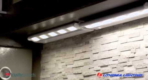 UCLD LED Undercabinet from Lithonia Lighting