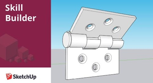 [Skill Builder] Modeling a Hinge
