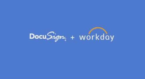 DocuSign for Workday Solution: Employee Onboarding