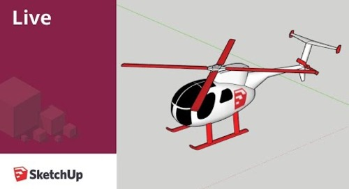 Live Modeling a Helicopter