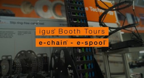 igus® Booth Tours - e-chain® e-spool®