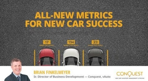 All-New Metrics for New Car Success