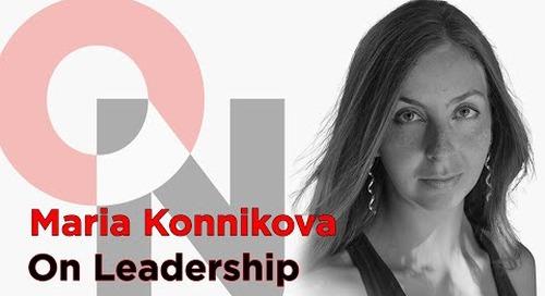 Pay Attention | Maria Konnikova | FranklinCovey clip