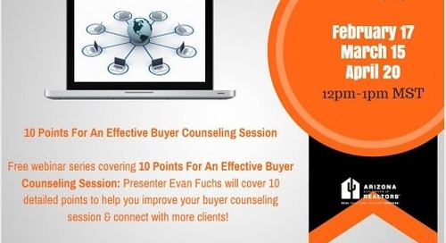 Part 2 of 3: Effective Buyer Consultations 3.15.2016