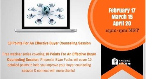 Part 2 of 3: Effective Buyer Consultations 3.15.2016