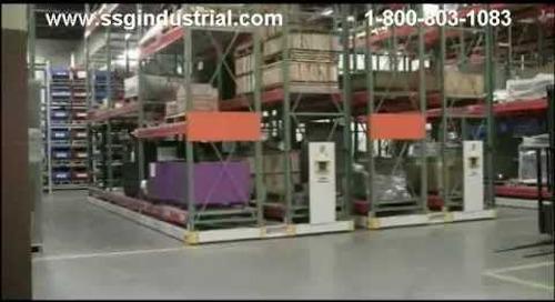 ActivRac Mobilized Pallet Racks | Spacesaver Moveable Aisle Storage Racking