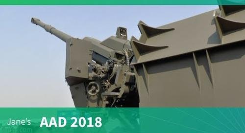 AAD 2018: T5 155mm mounted gun artillery system - Denel