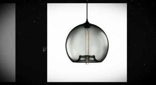 Stamen Handmade Glass Pendant Lamp - Proof Sheet